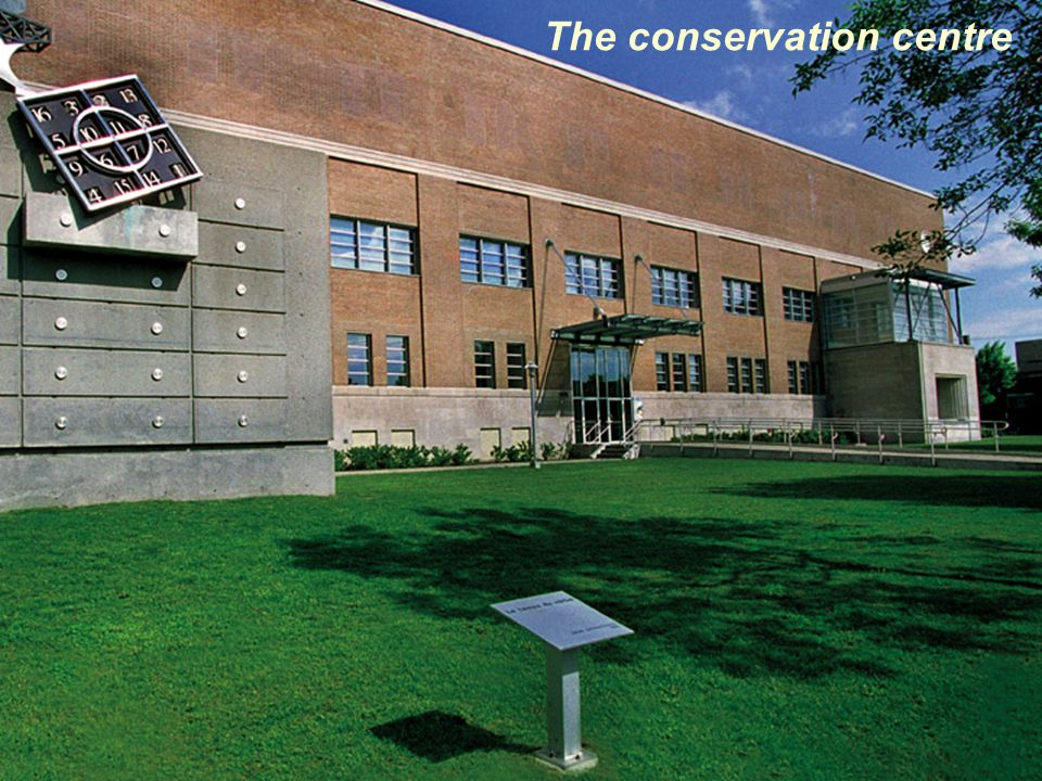 The conservation centre
