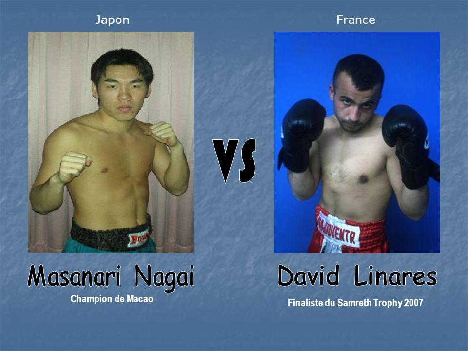 Champion de Macao Finaliste du Samreth Trophy 2007 JaponFrance