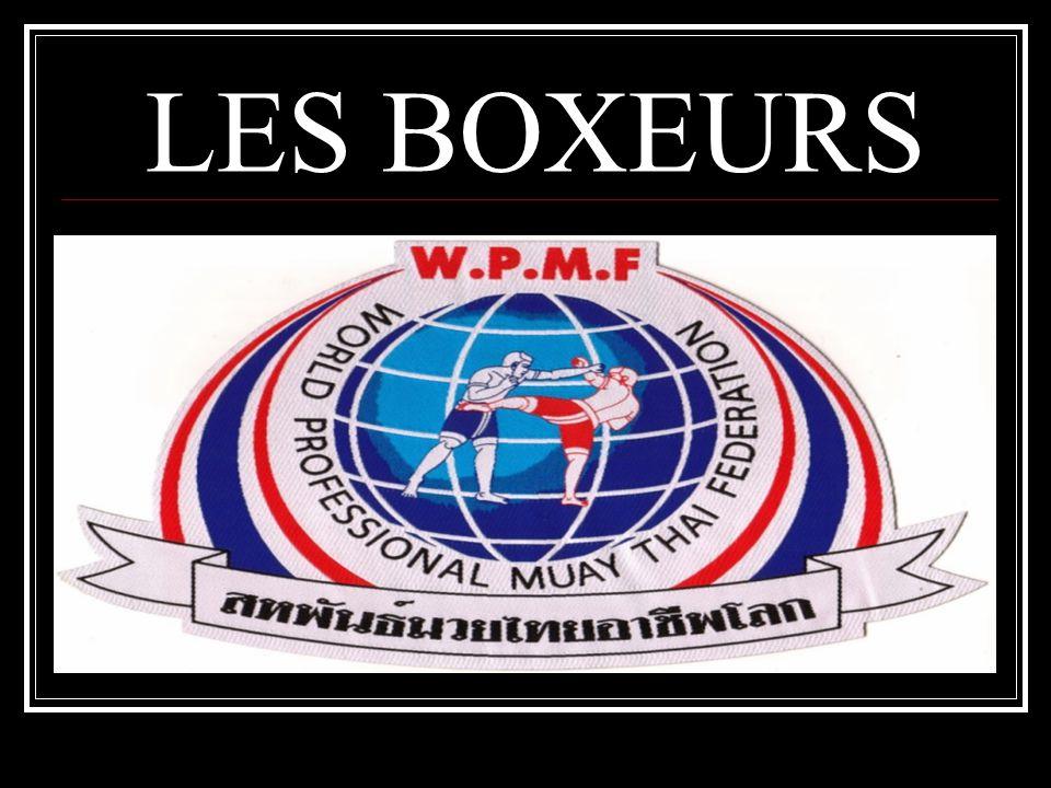 LES BOXEURS