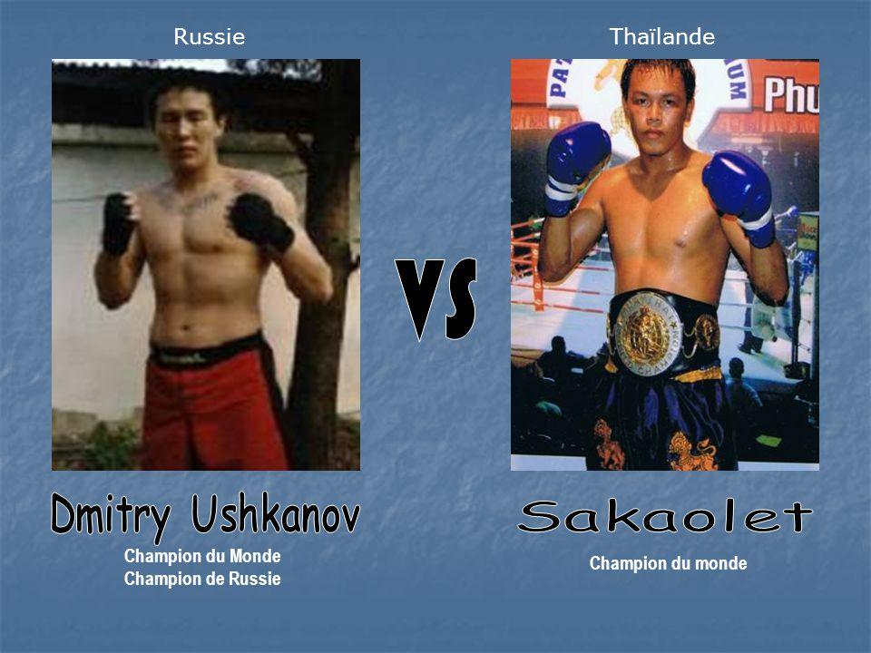 Champion du Monde Champion de Russie Champion du monde RussieThaïlande