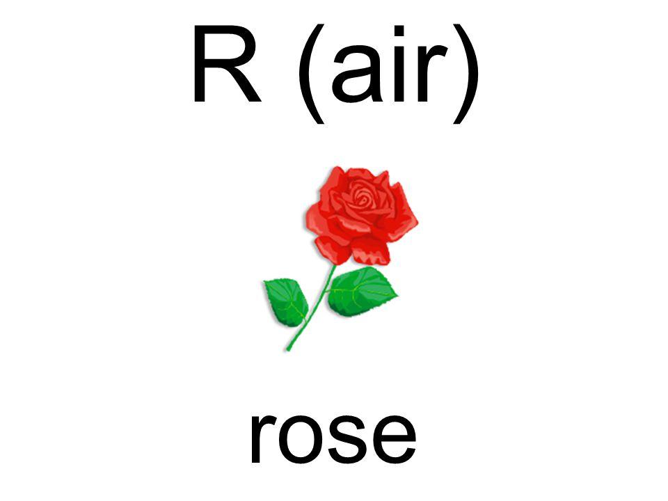 R (air) rose