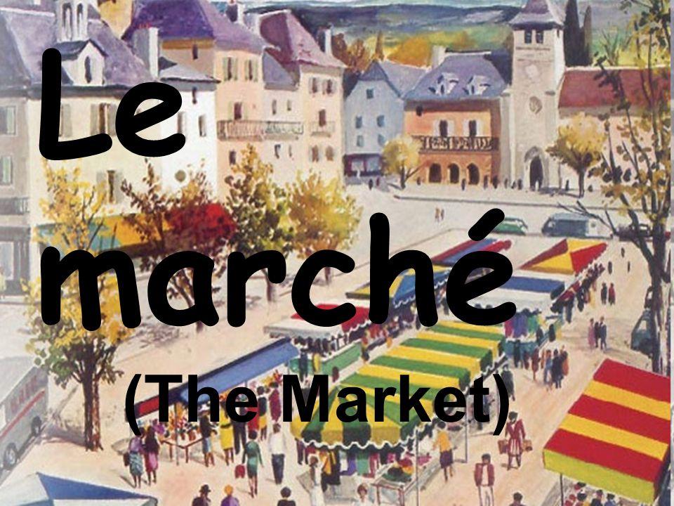 Le marché (The Market)
