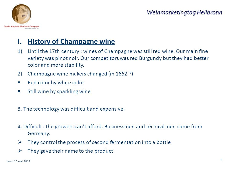 15 Weinmarketingtag Heilbronn Jeudi 10 mai 2012