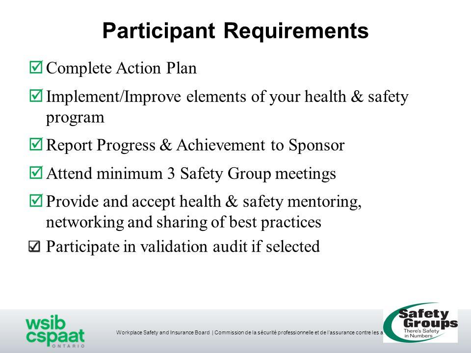 Workplace Safety and Insurance Board   Commission de la sécurité professionnelle et de l'assurance contre les accidents du travail What does the Element Requirements Say?