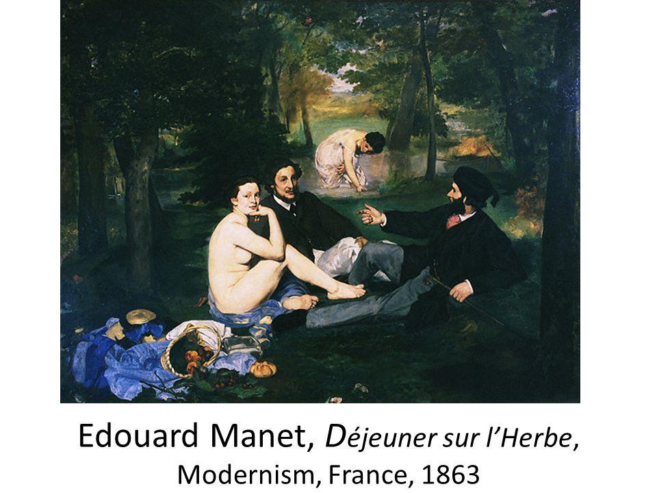 Edouard Manet, D éjeuner sur l'Herbe, Modernism, France, 1863