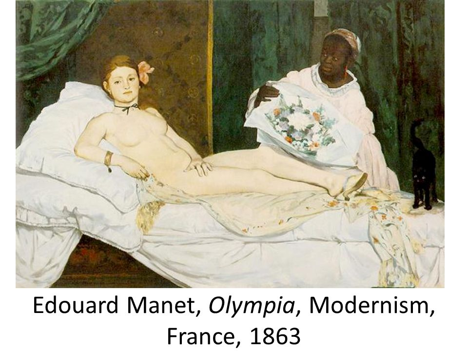 Edouard Manet, Olympia, Modernism, France, 1863