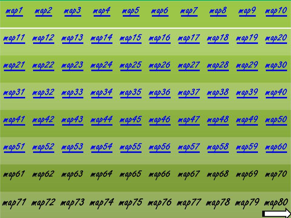 ECHAP = permet de quitter le jeu menu principal option carte