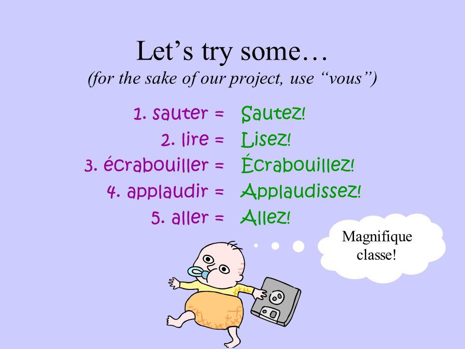 "IRREGULARS! ÊTRE  AVOIR  Sois!Soyez! Aie!Ayez! Mini Miss Murlin wonders: ""Where have I seen these before?!"" (tu) (vous)"