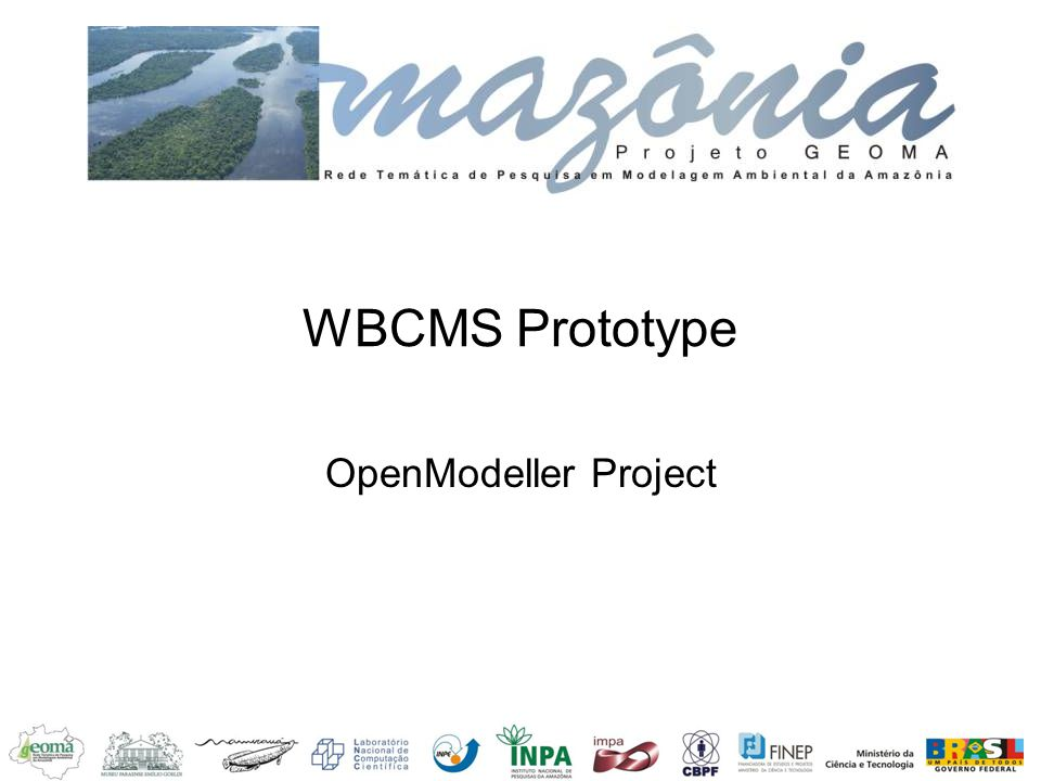 WBCMS Prototype OpenModeller Project