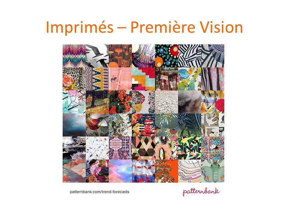 Imprimés – Première Vision