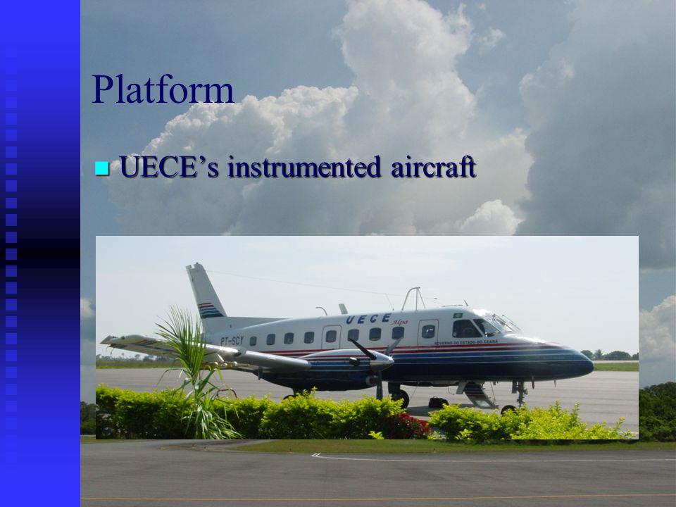 Platform UECE's instrumented aircraft UECE's instrumented aircraft