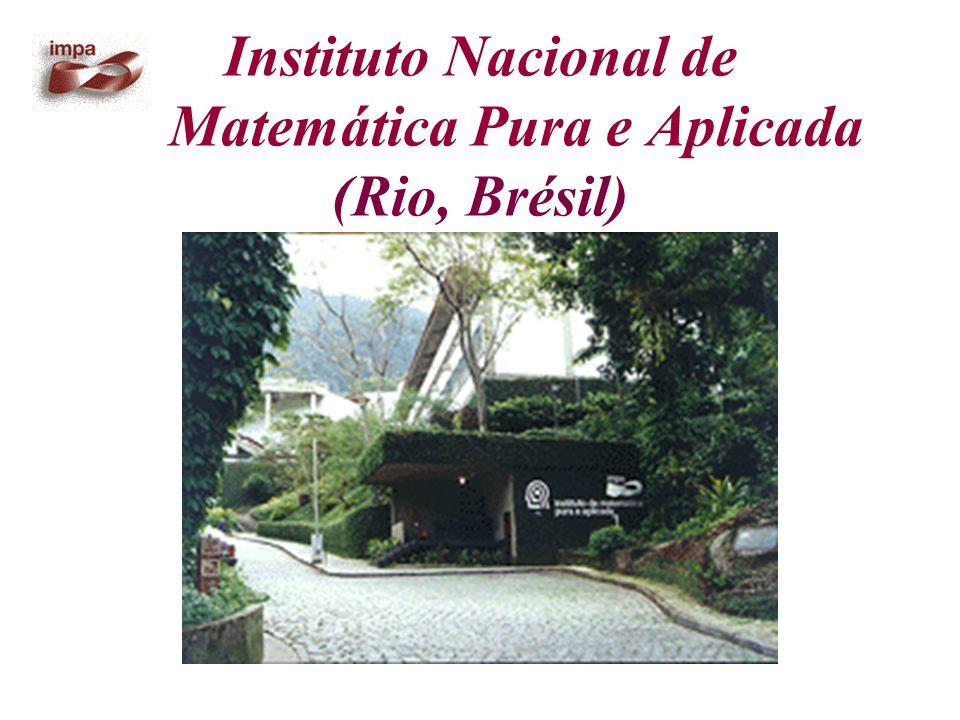 Instituto Nacional de Matemática Pura e Aplicada (Rio, Brésil)