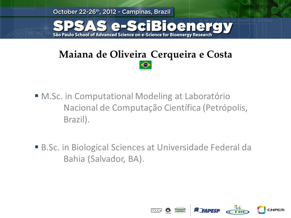 Maiana de Oliveira Cerqueira e Costa  M.Sc.