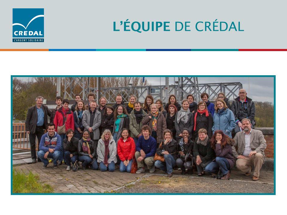 Administration L'ÉQUIPE DE CRÉDAL