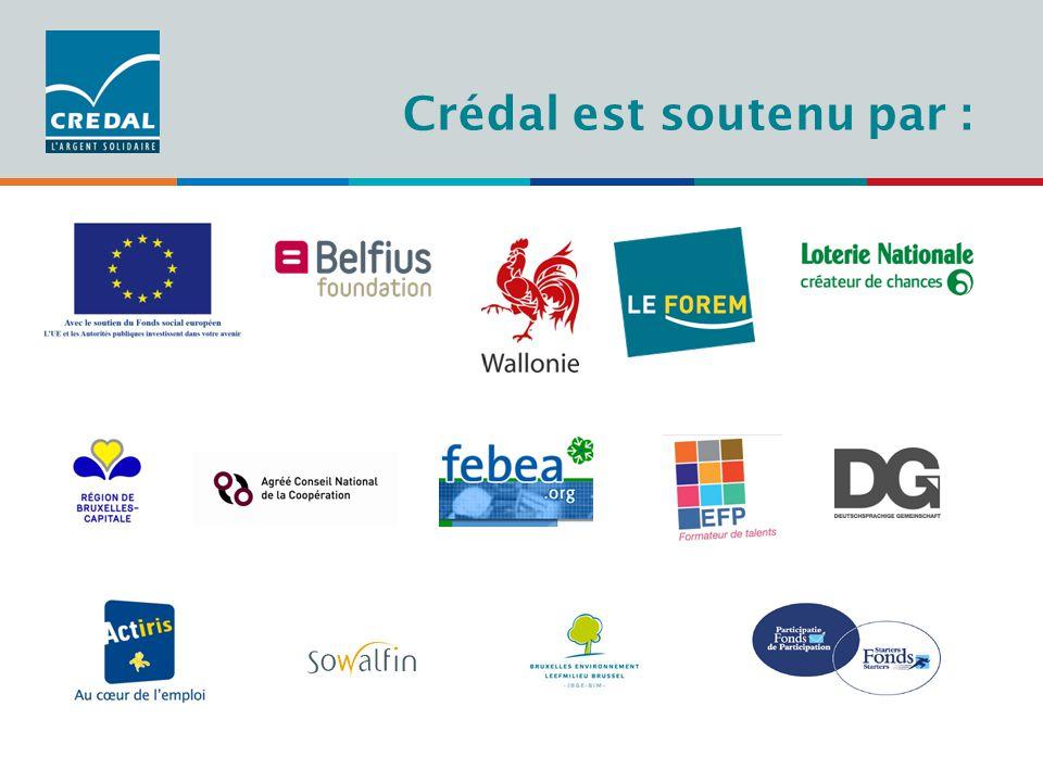 Administration Crédal est soutenu par :