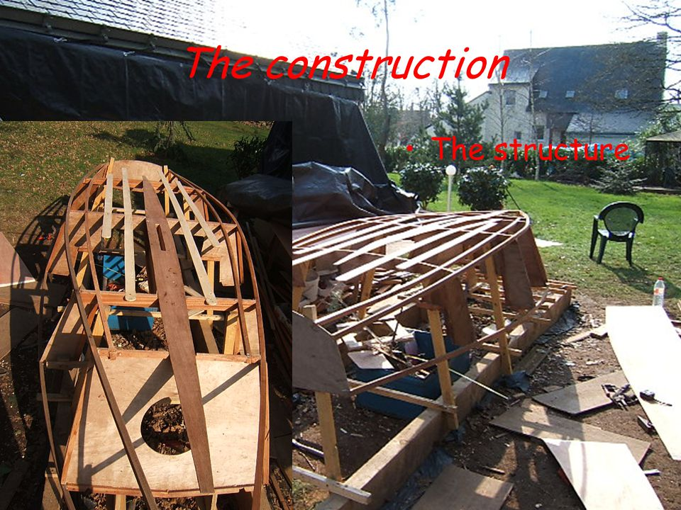 The Dark Part Detailed costs : –Plans, shipyard and tools : 180€ –Construction wood : 327€ –Glue, nails, screws… : 53€ –Stratification : 313€ –Painting : 118€ –Boat equipment ( mast, pulleys…) : 300€ Total cost : 1256€