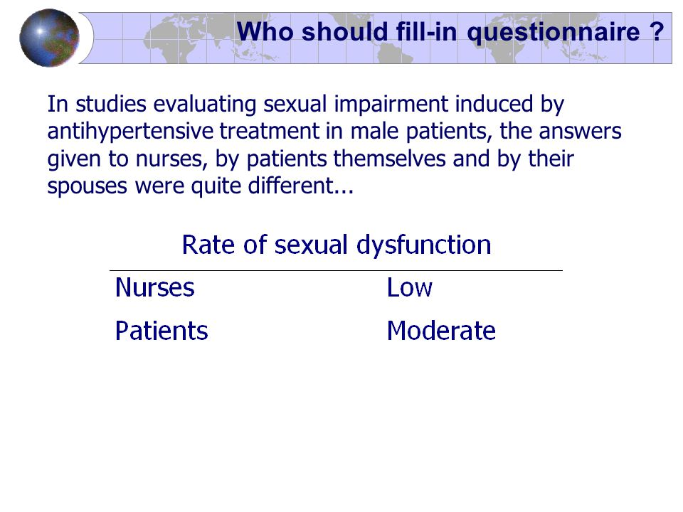 Who should fill-in questionnaire .