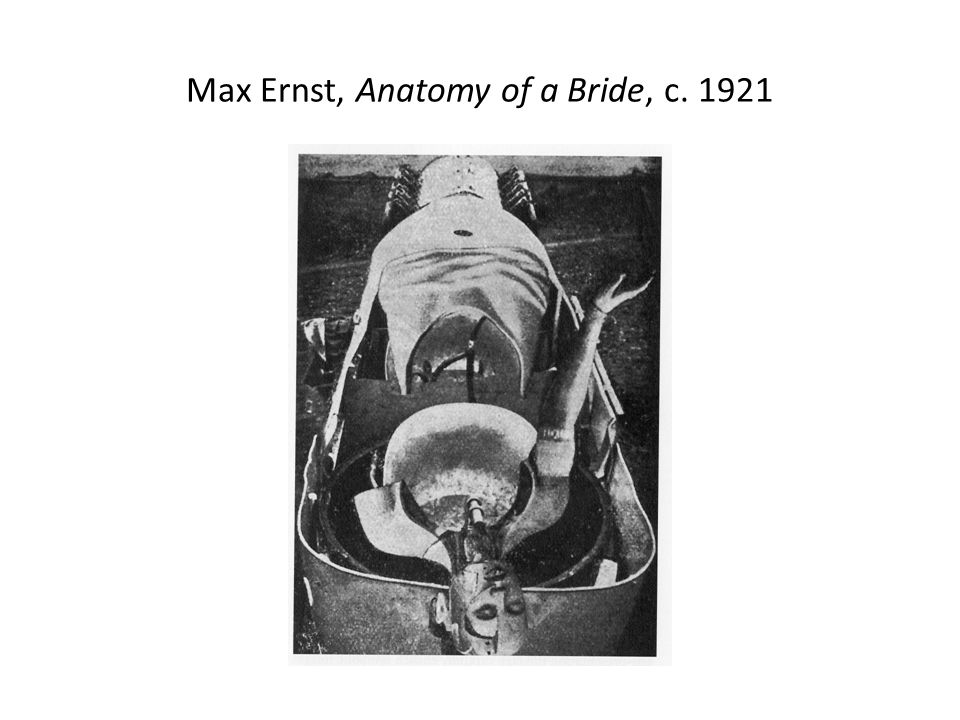 Max Ernst, Anatomy of a Bride, c. 1921