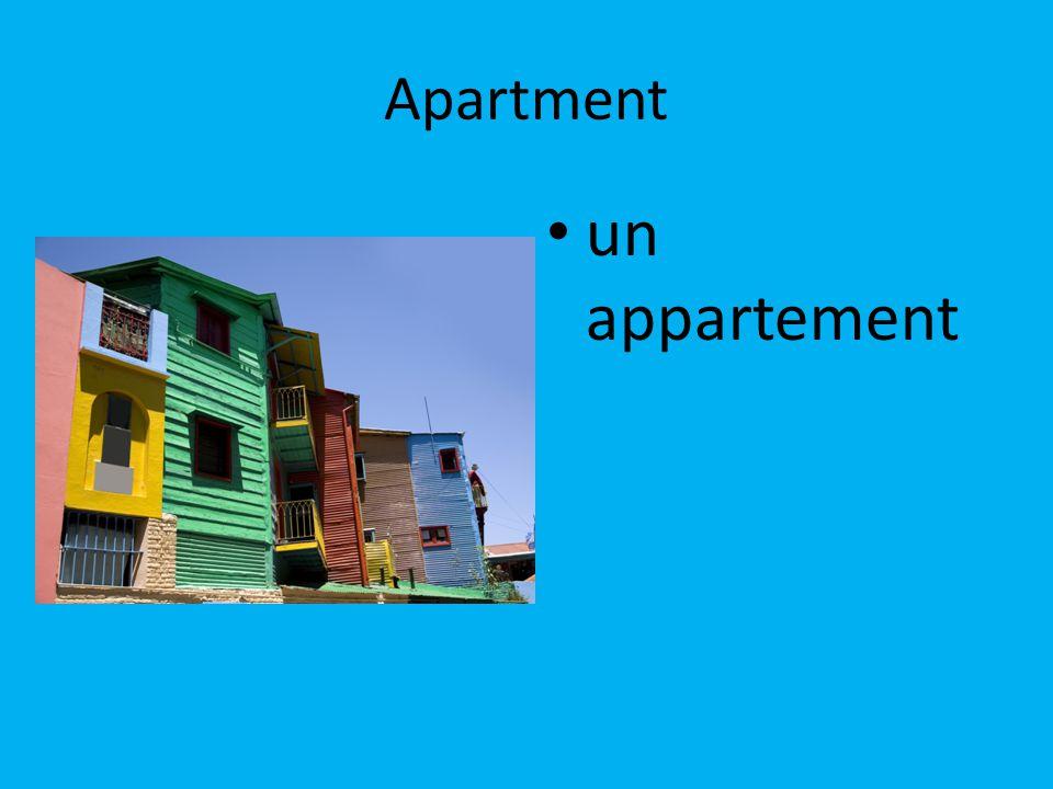 Apartment un appartement