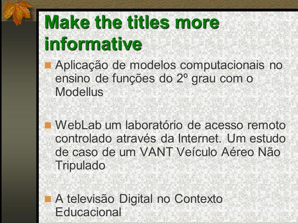 Aplicação de modelos computacionais no ensino de funções do 2º grau com o Modellus WebLab um laboratório de acesso remoto controlado através da Internet.