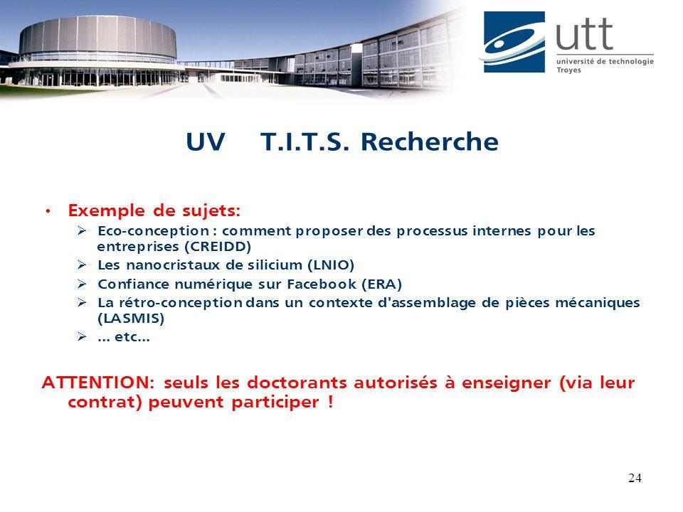 24 UV T.I.T.S.