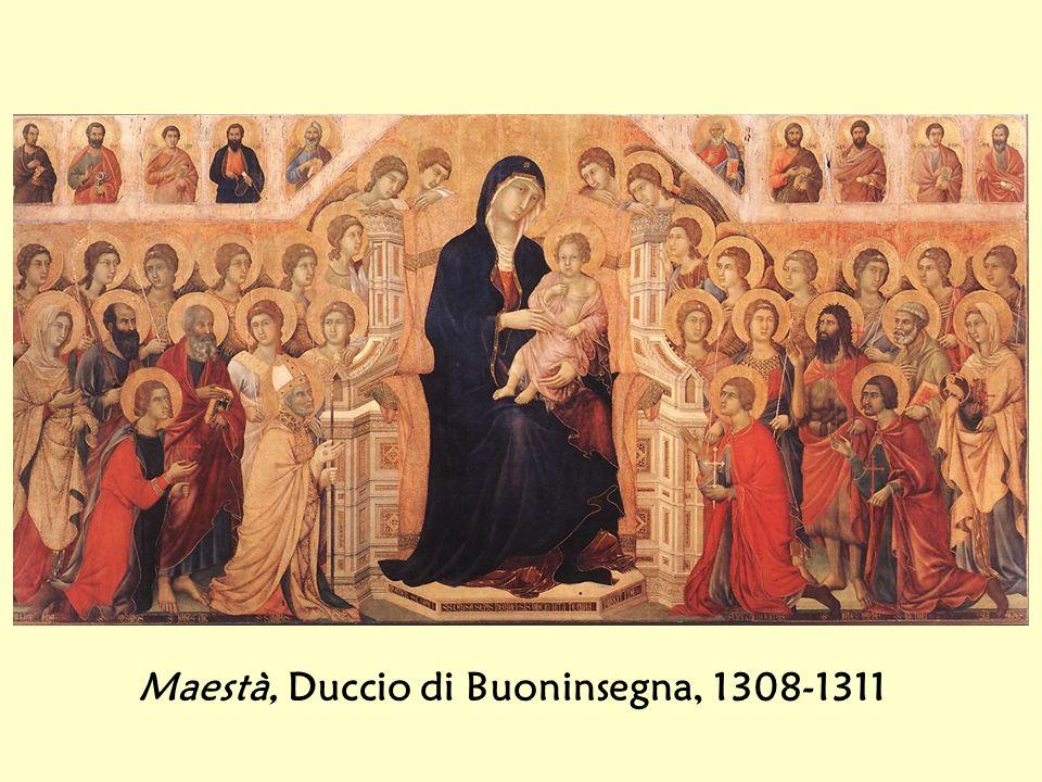 Maestà, Duccio di Buoninsegna, 1308-1311