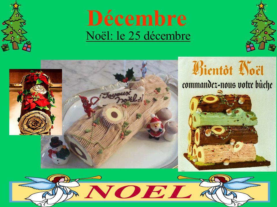 Décembre Noël: le 25 décembre