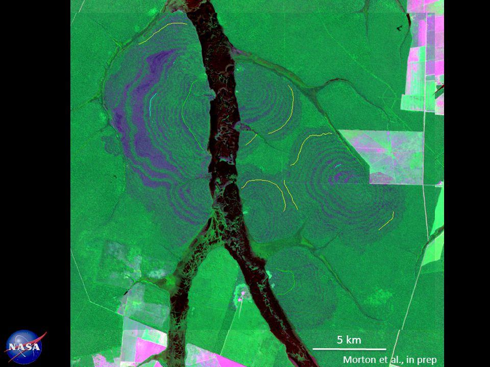 5 km Morton et al., in prep