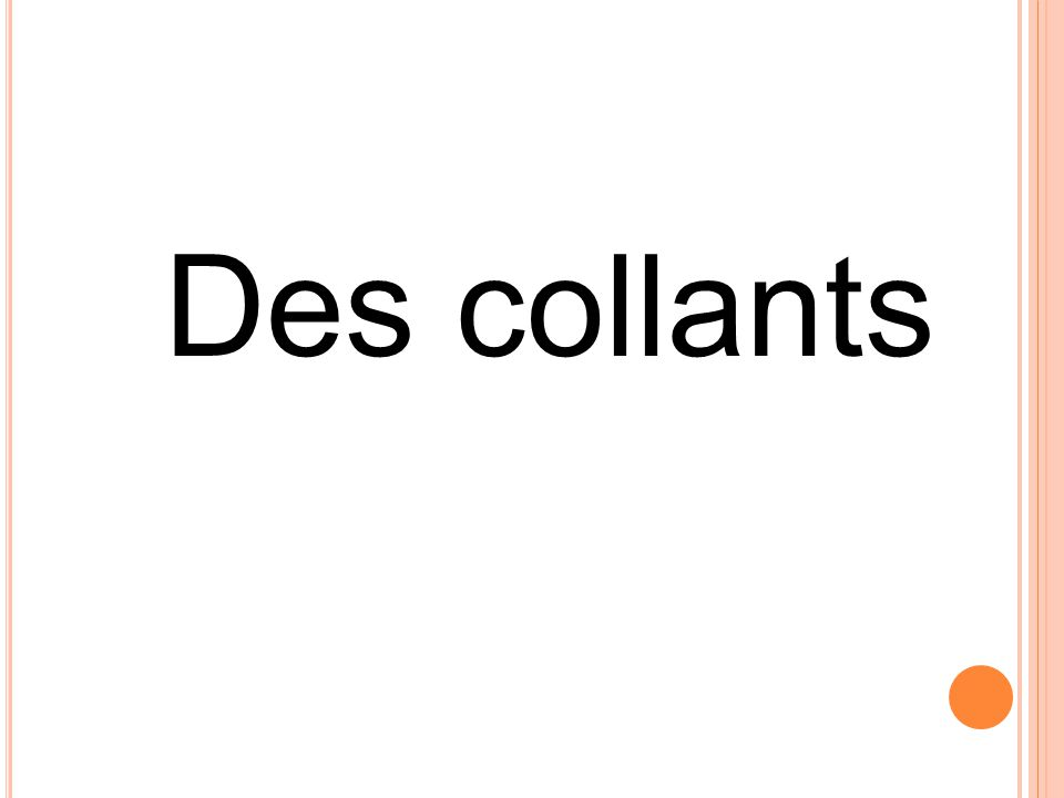 Des collants