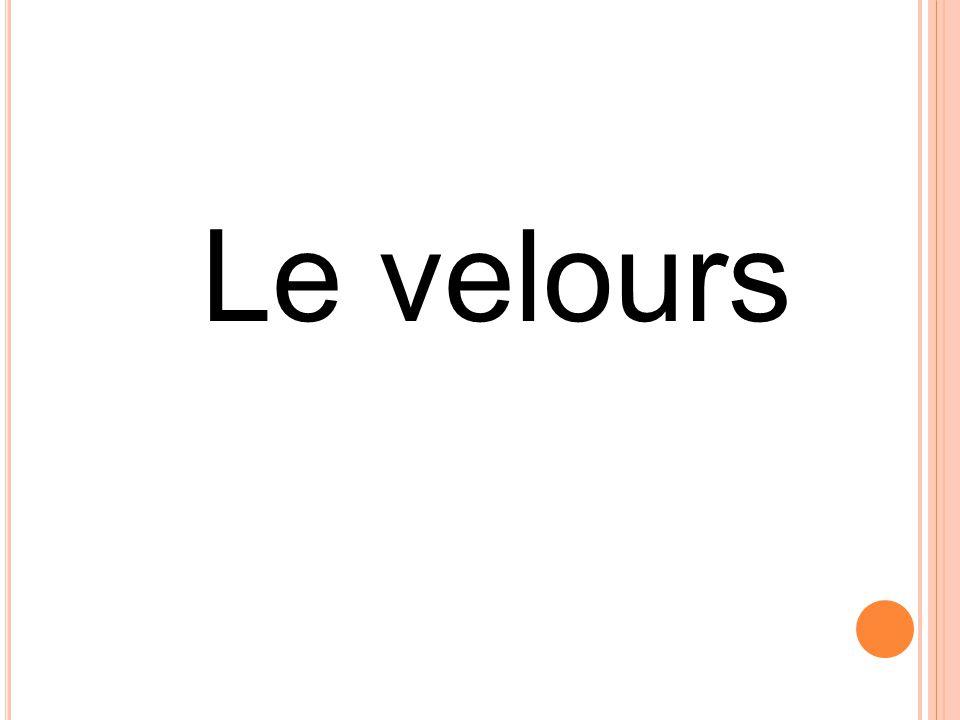 Le velours