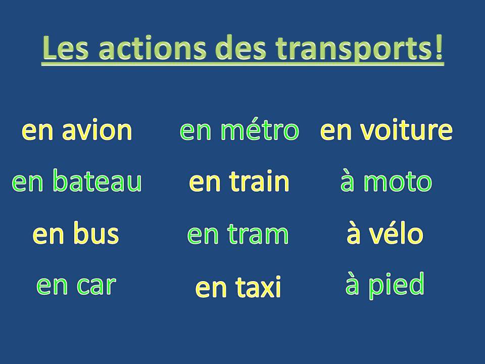 métro bateau train tram avion bus vélo voiture moto taxi car pied