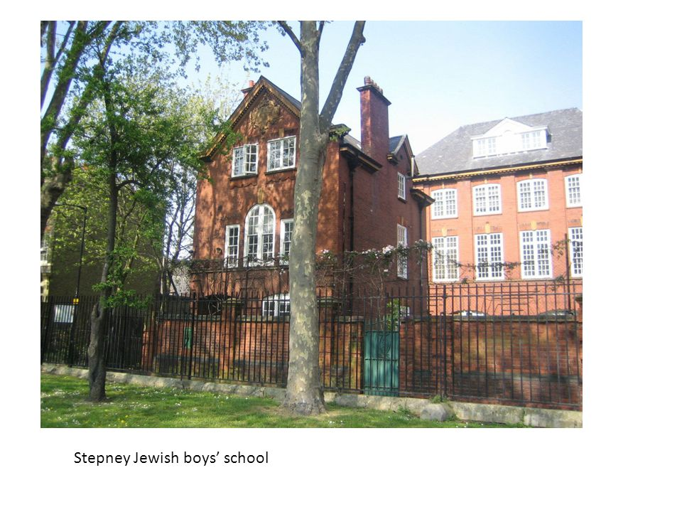 Stepney Jewish boys' school