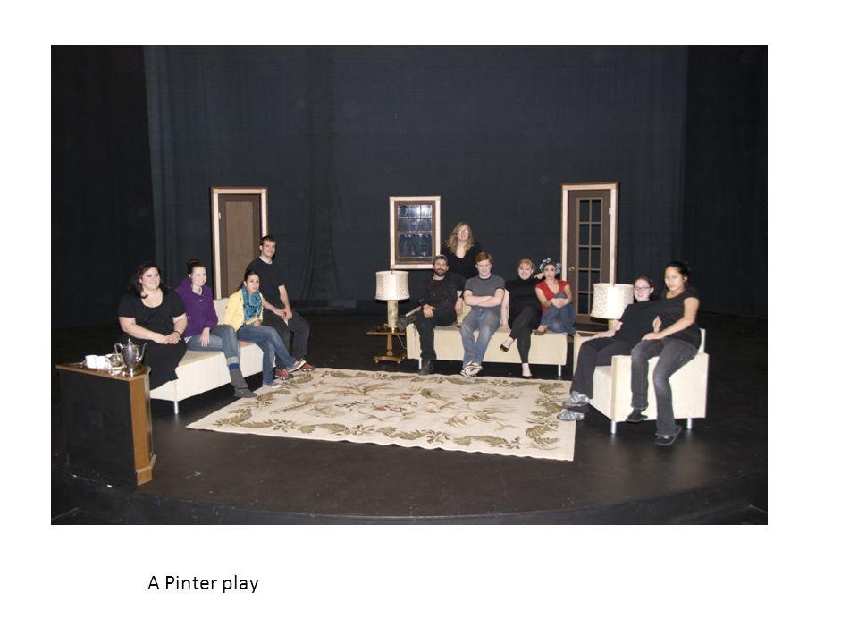 A Pinter play