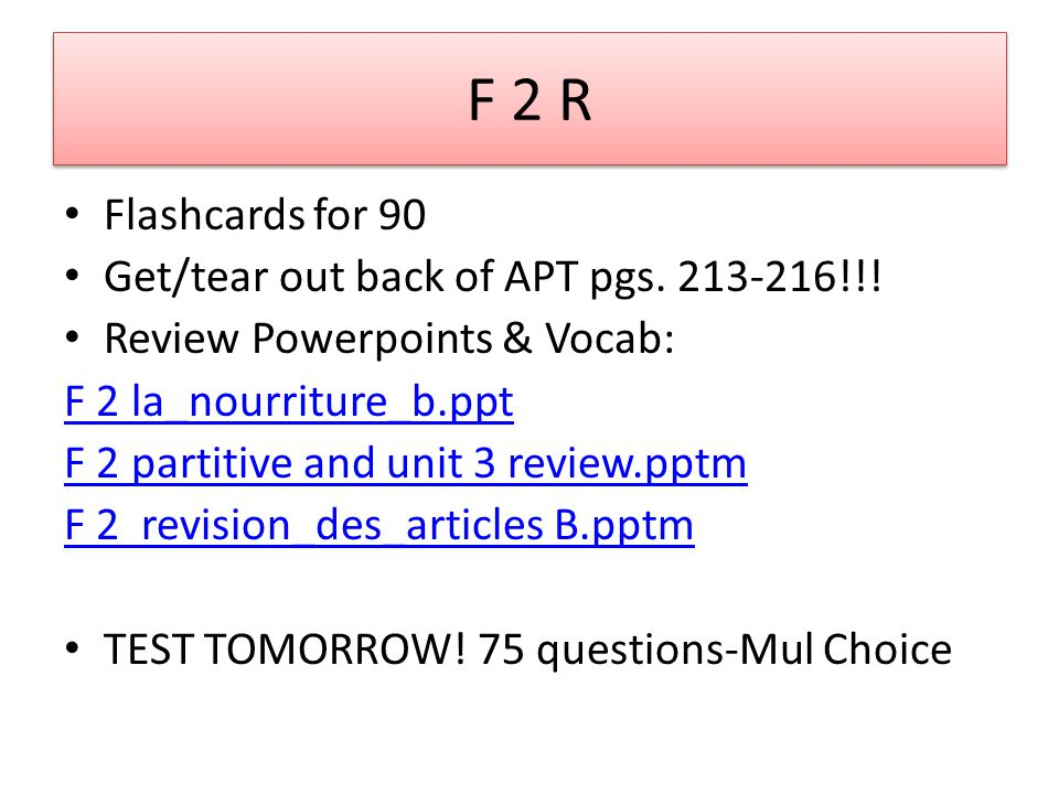 F 2 PreAP 1.Flashcards for 90 unless you were absent.