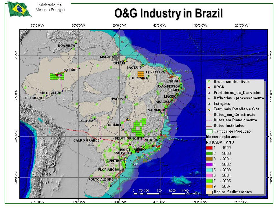 Ministério de Minas e Energia O&G Industry in Brazil