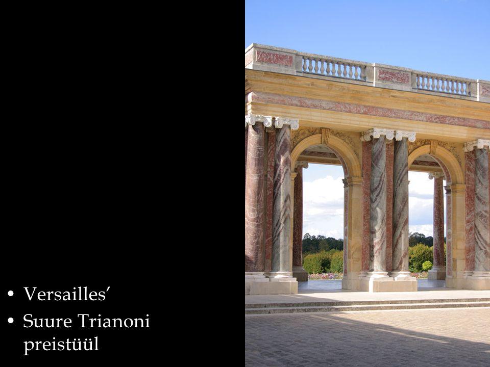 Versailles' Suure Trianoni preistüül