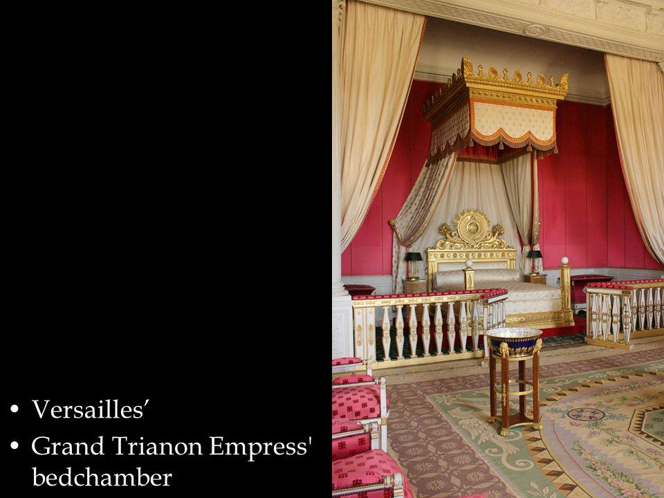 Versailles' Grand Trianon Empress bedchamber
