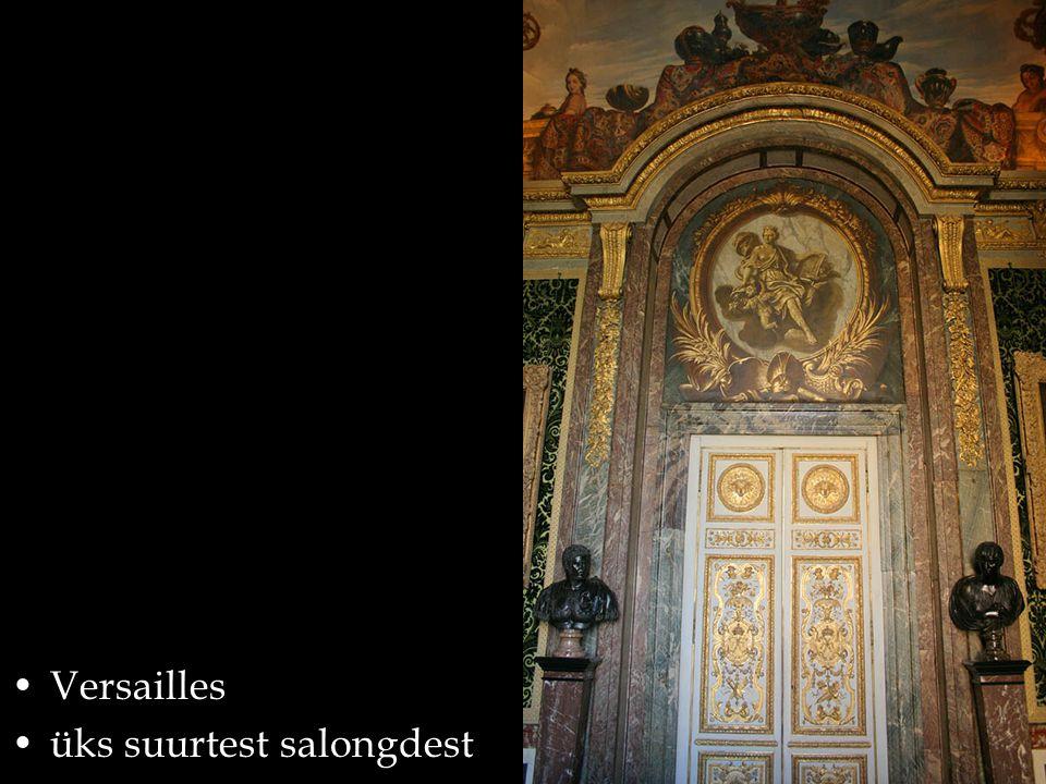 Versailles üks suurtest salongdest