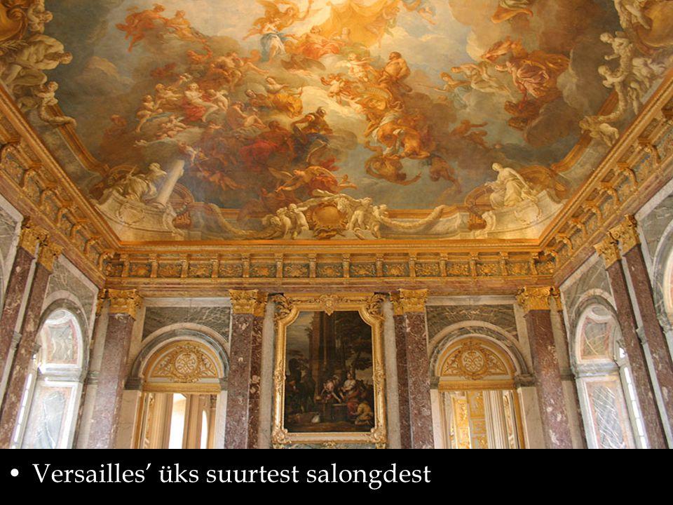Versailles' üks suurtest salongdest