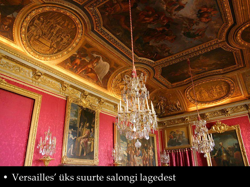 Versailles' üks suurte salongi lagedest