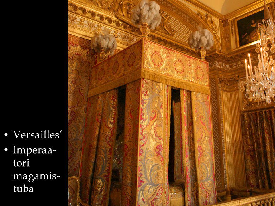 Versailles' Imperaa- tori magamis- tuba