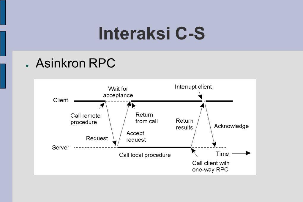 ● Asinkron RPC