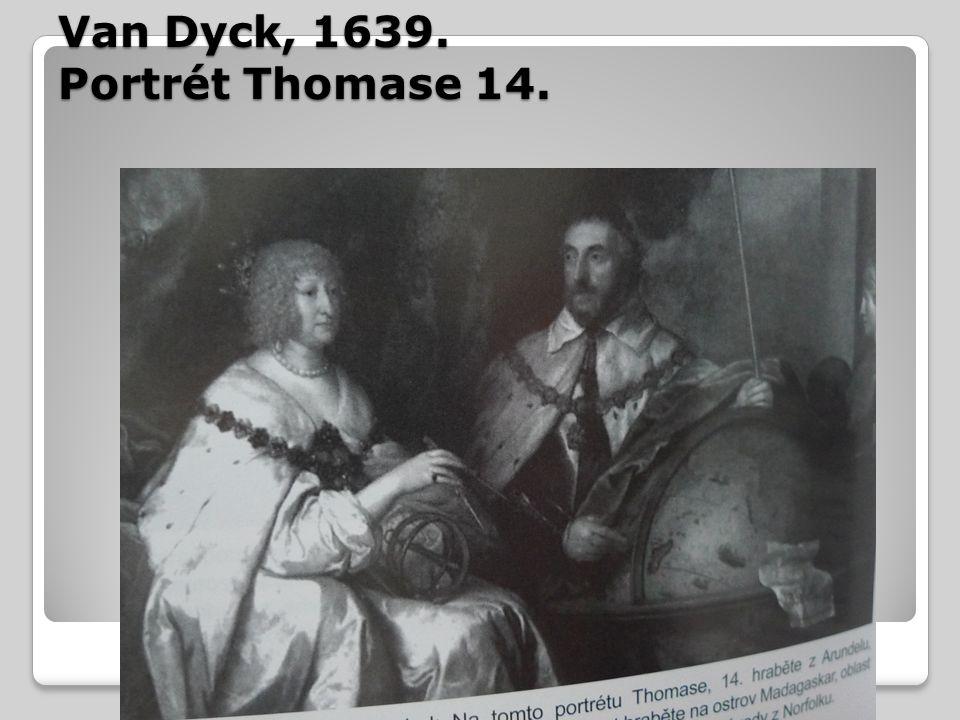 Van Dyck, 1639. Portrét Thomase 14.