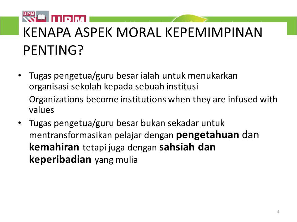KEPENTINGAN ETIKA DALAM ASPEK-ASPEK PENGURUSAN SEKOLAH Isu etika boleh timbul dalam: Pengurusan ujian dan penilaian- ikut perkembangan Penyediaan peluang yang sama untuk warga sekolah Pengurusan kepelbagaian budaya – 1 Malaysia Pertimbangan due process (prosedur dan substantif) Kebebasan memberi pendapat (kebebasan dan tanggungjawab) Penurunan kuasa/autoriti – kuasa bersama tanggung jawab (sumber kuasa pakar & rujukan; distributed leadership) 15