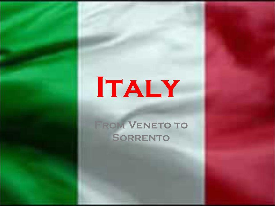 Veneto Emilia-Romagna Lombardia Piemonte LiguriaToscana Lazio Campania