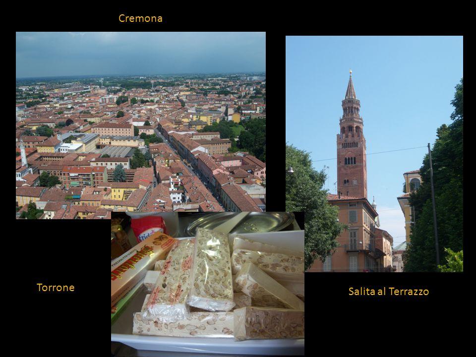Torrone Salita al Terrazzo Cremona