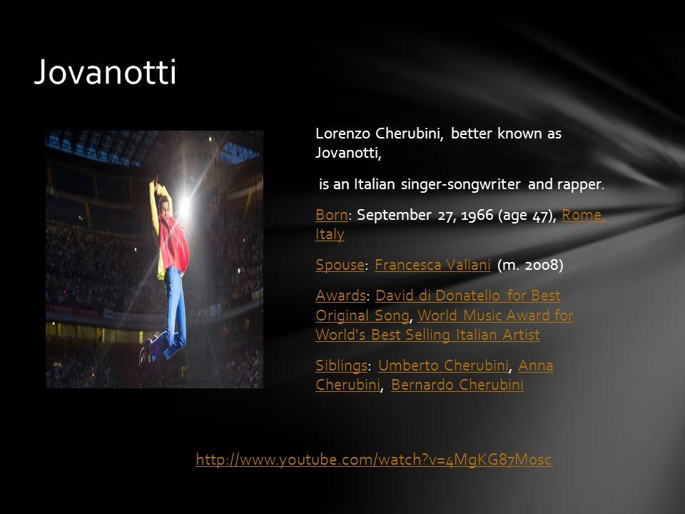 Luciano Ligabue, commonly known as Ligabue, is an Italian singer-songwriter, film director and writer BornBorn: March 13, 1960 (age 53), Correggio, ItalyCorreggio, Italy AlbumsAlbums: Arrivederci, mostro!, Sette notti in Arena, MoreArrivederci, mostro!Sette notti in Arena MoviesMovies: RadiofrecciaRadiofreccia AwardsAwards: David di Donatello for Best New DirectorDavid di Donatello for Best New Director NominationsNominations: World Music Award for World's Best Song, MoreWorld Music Award for World's Best Song Film music creditsFilm music credits: Radiofreccia, Niente paura, From Zero to TenRadiofrecciaNiente pauraFrom Zero to Ten Ligabue http://www.youtube.com/watch?v=IUWtAUKYmAQ