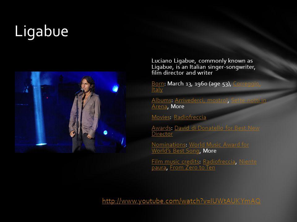 Michele Bravi is an Italian pop singer.