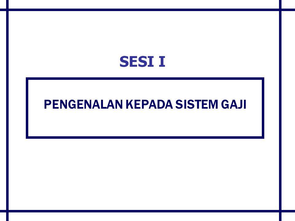 MODUL-MODUL SAP DALAM GFMAS Modul Financial & Controlling (FICO) General Ledger (GL) Accounts Payable (AP) Accounts Receivable (AR) Cash Management (CM) Funds Management (FM) Controlling (CO) Activity Based Costing (ABC) Assets Management (AM) Treasury Management (TR) Modul Human Resource (HR) Personnel Admin (PA) Payroll (PY) Modul Customized G-UMIS (Government Unclaimed Moneys Management Integrated System) G-SMIS (Government Securities Management Integrated System) G-ALMoS (Government Advance & Loans Monitoring System) G-LOANS Government Loans Modul Logistic (LO)  Materials Management (MM) SISTEM GAJI BERKOMPUTER SISTEM PERAKAUNAN GAJI & ELAUN