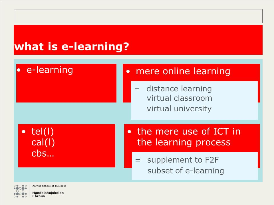 learning styles: problems of definition It has yet to be precisely (or singularly) defined.
